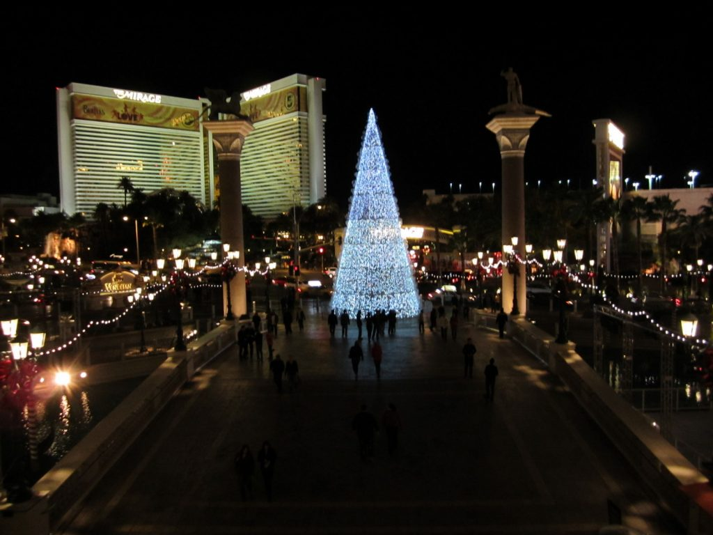 View from the front of The Venetian